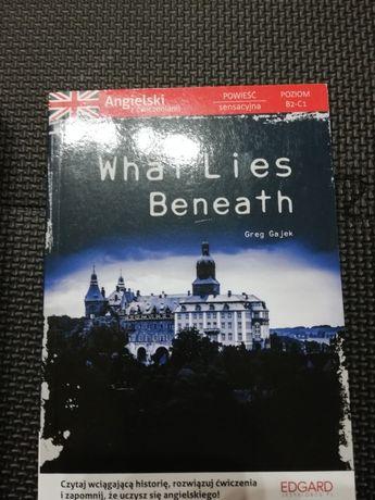What Líes Beneath książka po angielsku do nauki edgar