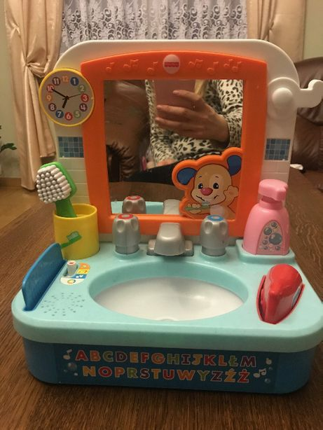Fisher-Price Szczeniaczkowa umywalka malucha