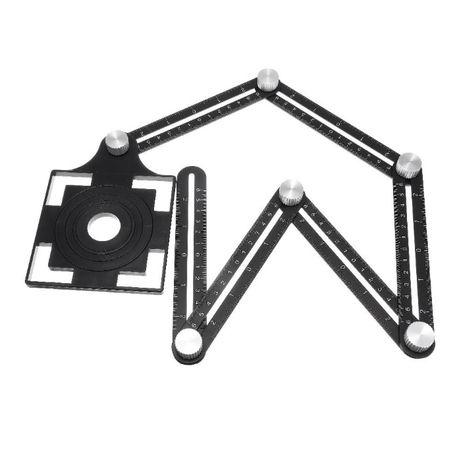 Transferidor/medidor angulos e partes a cortar azulejos