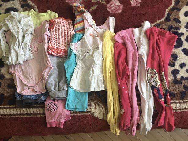 Пакет одягу для дівчинки 9 міс-1 рік