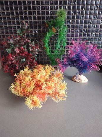 Roślinki sztuczne do akwarium