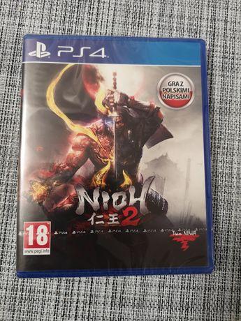 Nioh 2 PS4, PS5 nowa w folii wersja PL