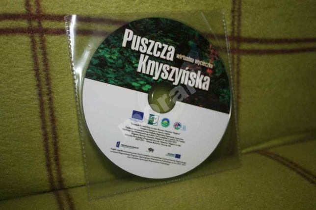 PUSZCZA KNYSZYŃSKA wirtualna wycieczka przewodnik na płycie