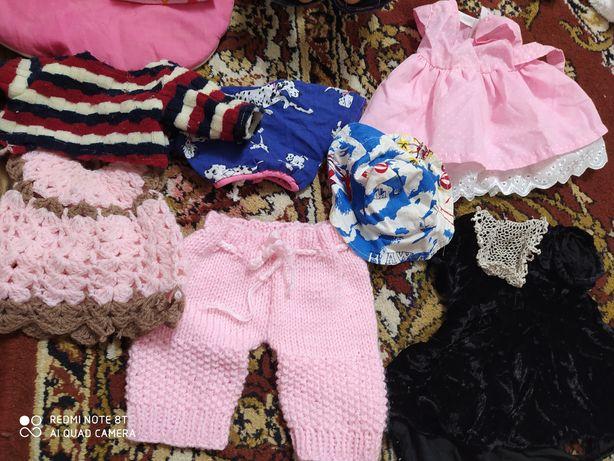 Одяг для ляльки, різного розміру, плаття штани кофти