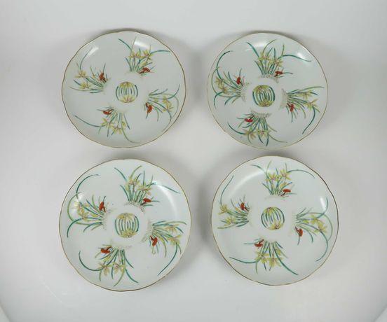 4 covilhetes em porcelana da China, Companhia das Índias
