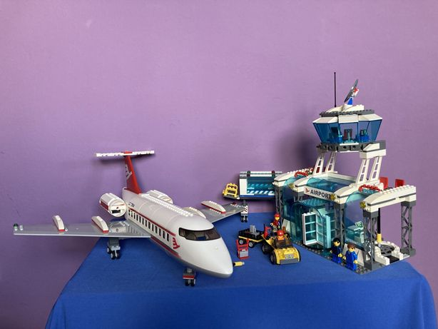 LEGO CITY 7894 Lotnisko Airport 99% kompletny UNIKAT