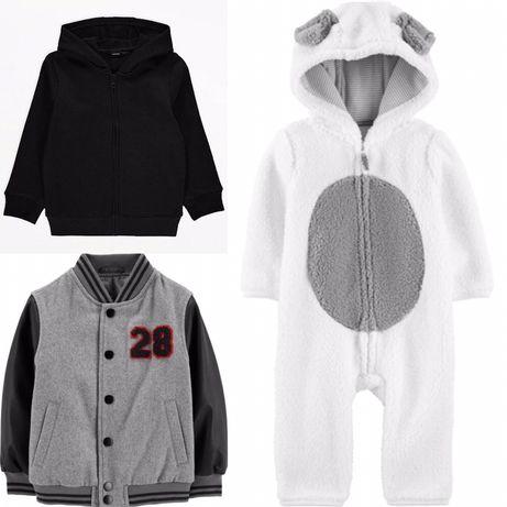 Пайта толстовка комбинезон бомбер курточка куртка Carters George H&M