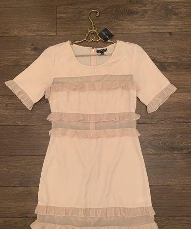 новое шикарное платье topshop uk 10 S-M 42-44 размер украинский ориги