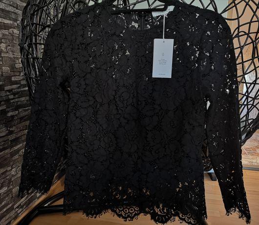 Ivy & Oak Bluzka black koronka Ostatnia sztuka w rozmiarze M.