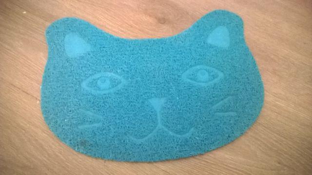 Mata dla kota w kształcie kota