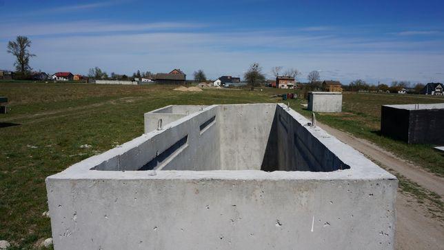 Kanał samochodowy z betonu jak szambo betonowe szamba kanały zbiornik