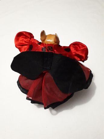 Летнее платье для маленькой собаки/кошки