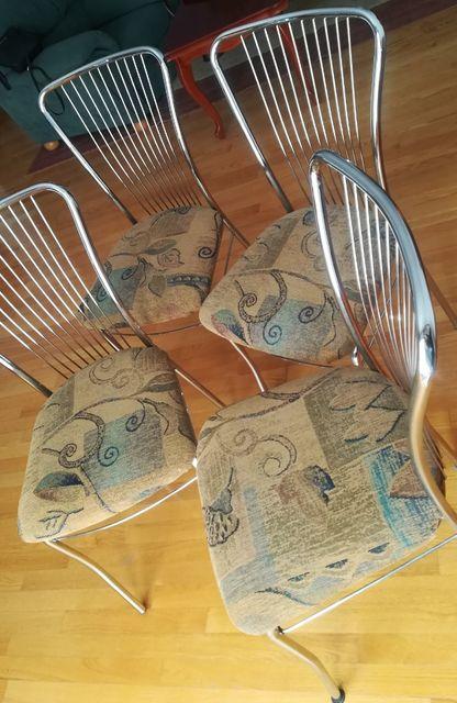 Krzesła używane 4 szt. w bardzo dobrym stanie OKAZJA