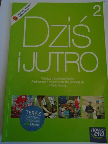 Podręcznik Dziś i jutro 2 Wiedza o społeczeństwie Nowa Era