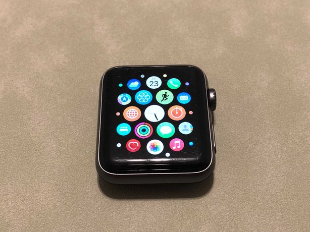 Apple Watch Series 3 42mm Space Gray Cellular + Gps