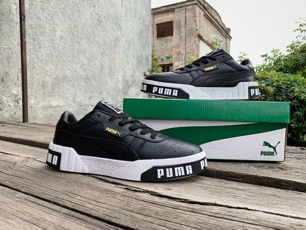 Мужские осенние кроссовки кеды Puma Cali Wn's (3 цвета). ТОП качество!