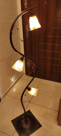 Zestaw lampa wisząca i stojąca + gratis
