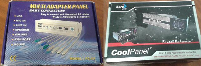 Painel frontal com diversas saídas novo mais CollPanel 2 da Aerocool