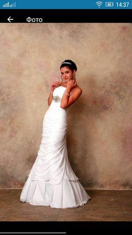 Срочно!Свадебное/выпускное платье,4999руб