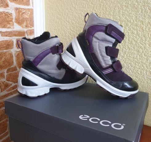 Сапоги, ботинки Ecco зимние 32 р., экко ботиночки деми