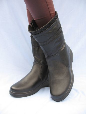 простые и удобные женские сапоги зима на 27 см купить по доступной цен