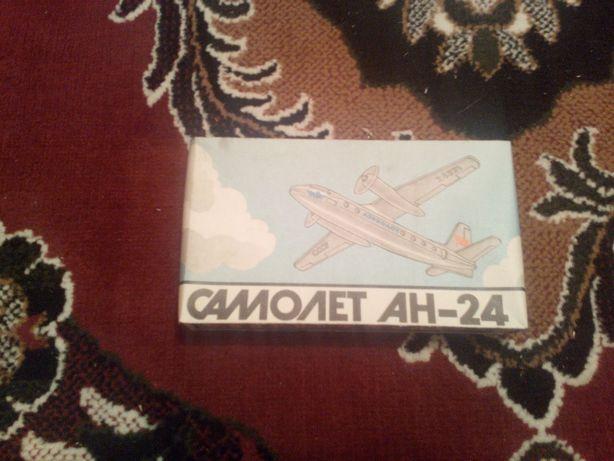 Сборная модель ан-24