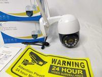 [NOVO] Câmera Vigilância Wi-Fi Exterior • 1080P • APP • Det. Movimento