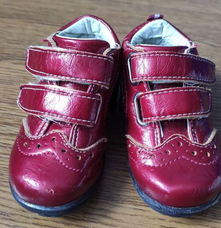 Демисезонные ботиночки 19 р