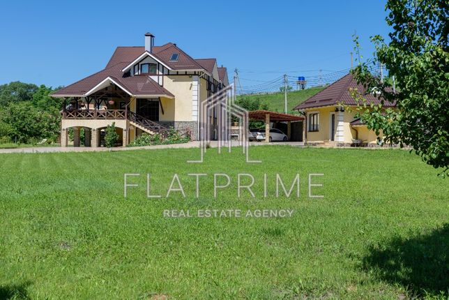 Продам дом Мархалевка, 486 м, СПА комплекс, 10-мин Теремки.