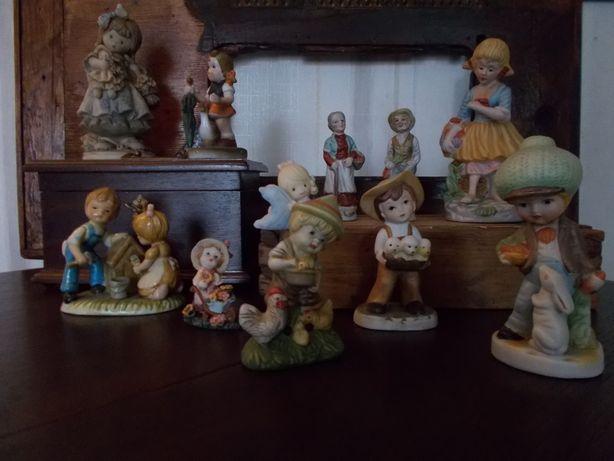 & Figurki Porcelanowe & Kolekcja PRL & Figurka & Vintage &