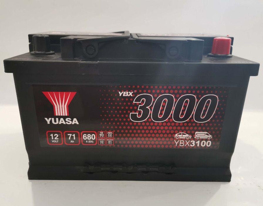 Akumulator YUASA YBX3100 71Ah 650A Promocja!!! Wrocław - image 1