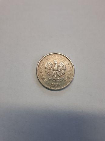 Moneta 1zł z 1990 roku.