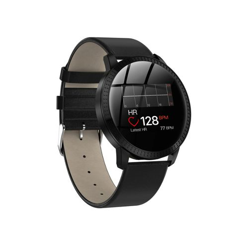 Jesienna Promocja Smartwatch Android ISO Skórzany pasek puls NOWY