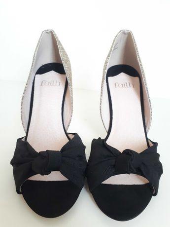 Sapatos NOVOS salto festa/high heels FAITH 38/UK 5