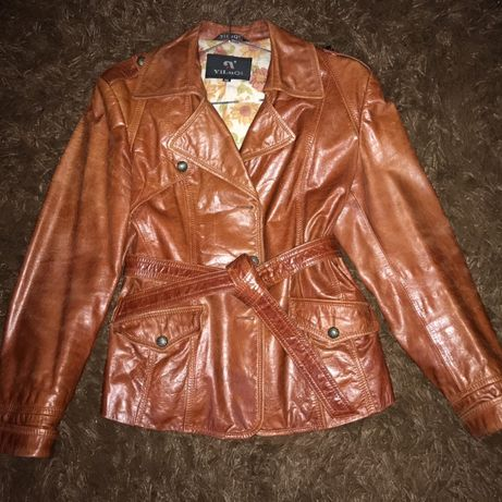 Курточка з натуральної шкіри !