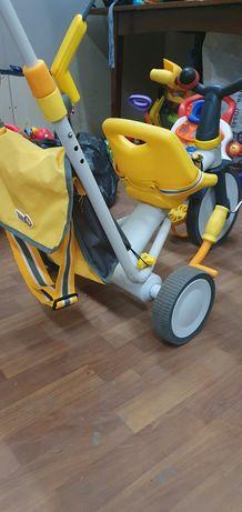Велосипед-коляска 3 в 1