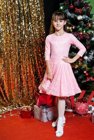 Платье_Бейсик для Спортивно_Бальных танцев
