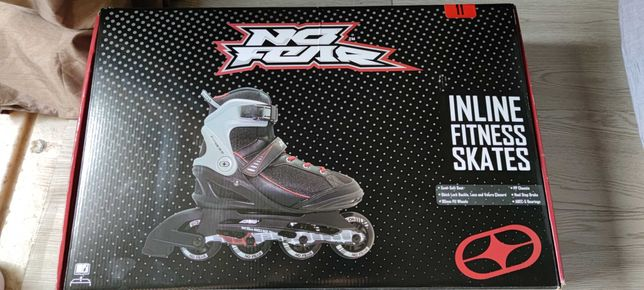 Patins No Fear Inline Fitness (TAM. 45)