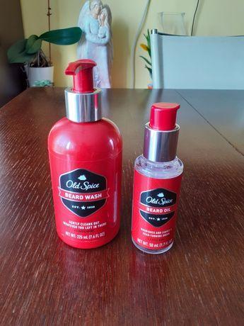 Old Spice szampon i olejek do brody