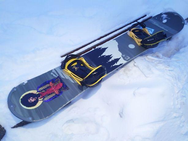 Сноуборд Burton cruzer 168 w вместе с креплениями Burton