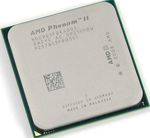Процессор Phenom II x4 965 Black Edition. 3.4 ghz