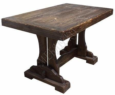 Стол деревянный, Стол Садовый Вавилон