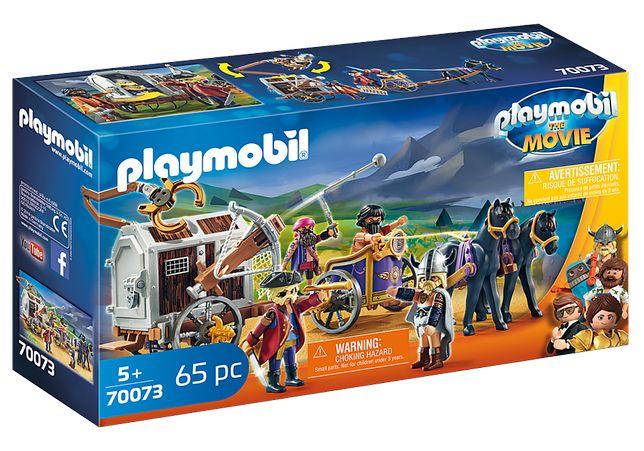 Playmobil 70073 The Movie - Charlie com Carro - NOVO