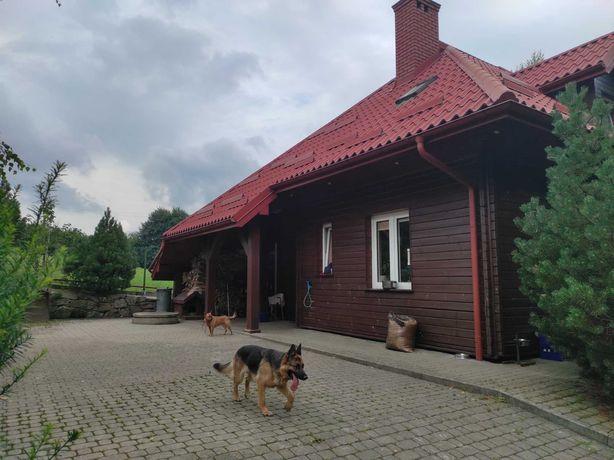 Dom Beskid niski z DUŻYM garażem PRAWIE w lesie blisko jeziora!!!