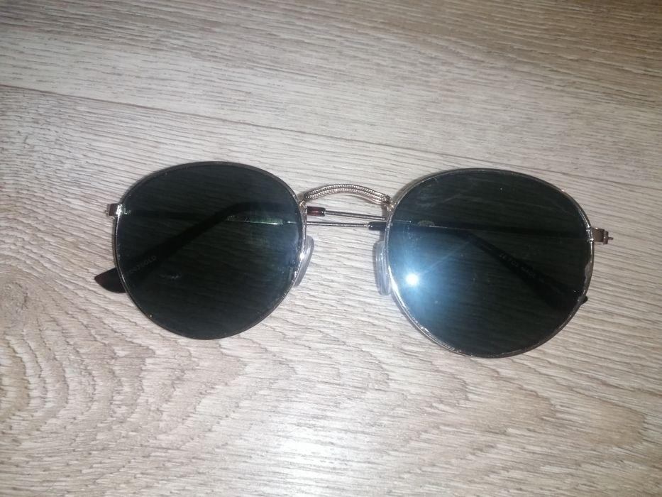 Солнцезащитные очки как у ray ban round metal. Линзы зелёные. Китай. Горишные Плавни - изображение 1