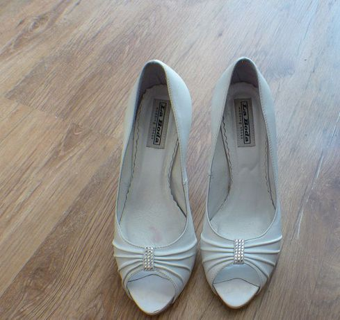 Buty ślubne La Boda rozmiar 37