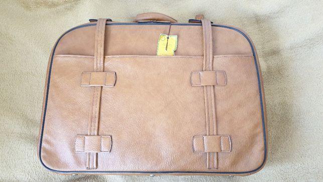 Nowa walizka PRL podróżna retro vintage hipster metka