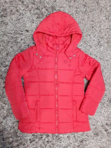 kurtka zimowa dla dziewczynki smyk r.140