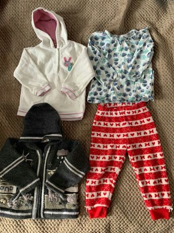 Кофты теплые штаны мастерка на девочку 2-3 года