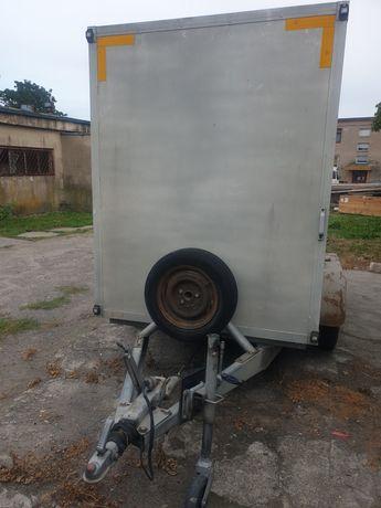 Przyczepa ciężarową  izotermiczna